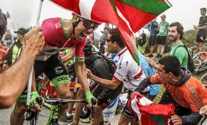 Las espectaculares estampas que ha dejado La Vuelta a su paso por Bizkaia