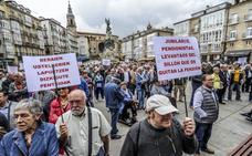 Los pensionistas alaveses vuelven a salir a la calle el lunes