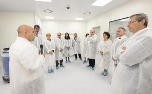 Inauguran en San Sebastián una planta puntera en terapia génica