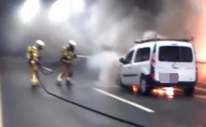 Los túneles de Malmasin recuperan la normalidad tras su cierre por un incendio