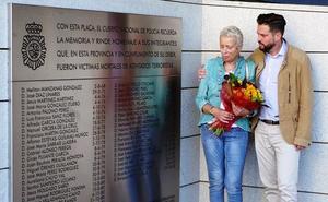 Primer homenaje a Antonio Cedillo, policía nacional asesinado por ETA hace 36 años