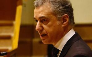 Urkullu pide «ensanchar los consensos ya alcanzados» para pactar el nuevo Estatuto