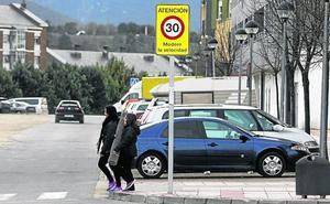 Miranda limitará a 30 kilómetros por hora la velocidad en el tramo urbano de carretera de Logroño