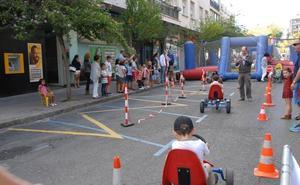 Getxo lanza un reto en autobús y patines por la Semana de la Movilidad