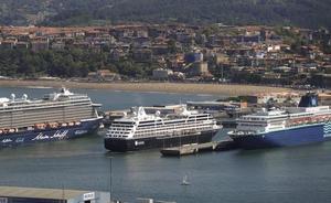 Cerca de 5.000 turistas de tres cruceros desembarcan en el Puerto de Bilbao