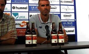 Garitano (Bilbao Athletic): «Hemos jugado con sentido, el equipo ha estado sólido»