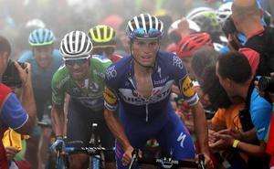 «Me gustaría correr como Contador»