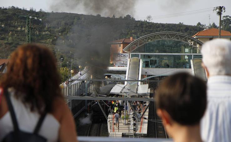 El tren de vapor vuelve a la Margen Derecha