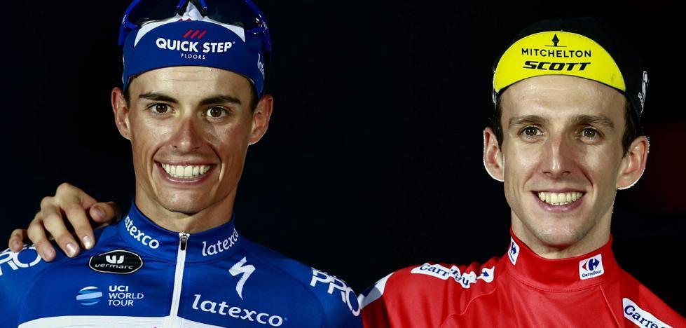 La Vuelta rejuvenece con Simon Yates y Enric Mas