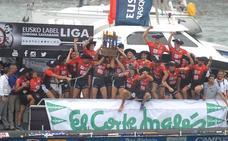 Hondarribia gana la última regata en Portugalete en la coronación de Urdaibai