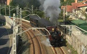 Vuelve el tren de vapor a Plentzia