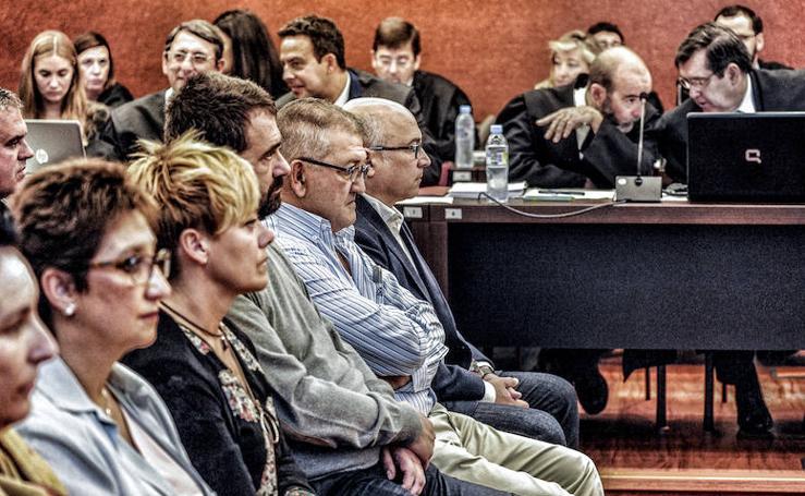 El aplazamiento del 'caso De Miguel' aproxima una condena para exdirigentes del PNV