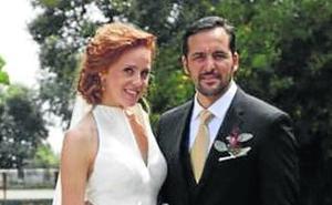 Se casa la actriz María Castro
