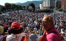 Los pensionistas denuncian en Bilbao la subida de las tarifas eléctricas