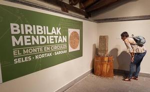 El Museo Euskal Herria descubre los montes en círculos