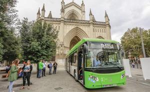 Las líneas 4, 6 y 8 de Tuvisa estrenarán los primeros autobuses híbridos de Vitoria