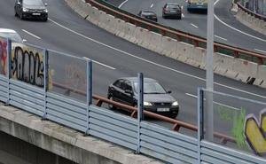Dos pantallas reducirán el ruido en la autovía de Altube a la altura de Sarria