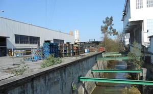Comienzan las obras en el río Asua para reducir el riesgo de inundaciones en Sondika