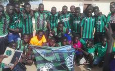 Los colores del Sestao se lucen en Senegal