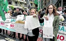 Los sindicatos acusan a Osakidetza: «No les interesa llegar hasta el final»