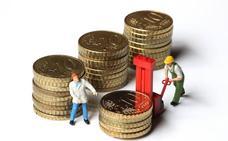 Los salarios crecen en Euskadi más del doble que la media española