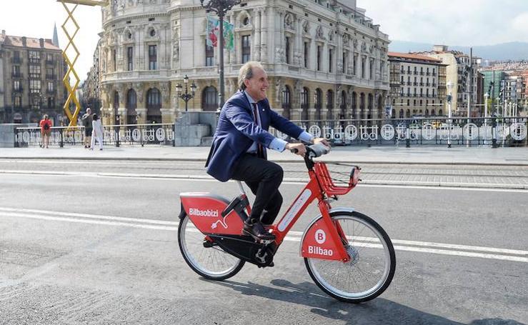 Bilbao se pasa a la bicicleta eléctrica