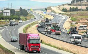 La variante de Berantevilla se abrirá al tráfico en el primer trimestre de 2019