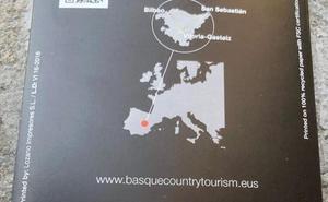 El Gobierno atribuye a un «error humano» los folletos que sitúan Euskadi en Cuenca