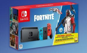 Nintendo lanzará un pack de Switch con Fortnite