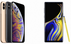 iPhone XS Max frente a Galaxy Note 9: ¿cuál es mejor?