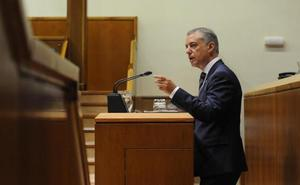 Urkullu advierte de que un pacto de autogobierno solo entre el PNV y Bildu sería «un fracaso estrepitoso»