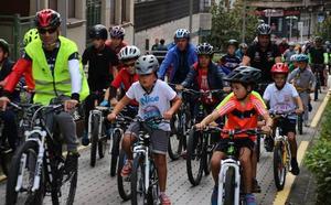 Gernika promueve el uso de la bici como transporte saludable