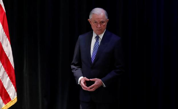 El fiscal general de Estados Unidos, Jeff Sessions./Reuters