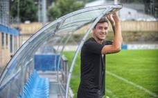 «Me encanta el fútbol que se hace en Euskadi», asegura Meneses (Amorebieta)