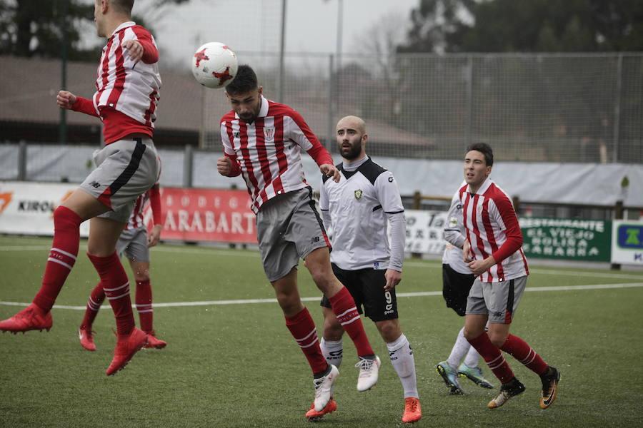 El Bilbao Athletic, con Nolaskoain, va a por el 13