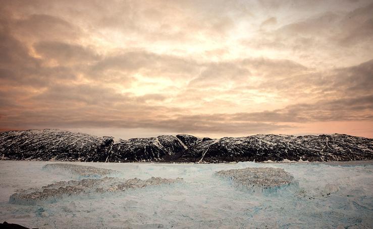 El crepitar del hielo