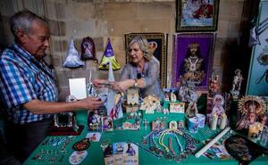 Feria en el claustro de la catedral