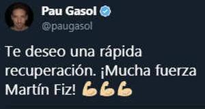 El mundo del deporte se interesa por el estado de Martín Fiz