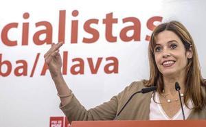 Maider Etxebarria, aspirante del PSE a la Alcaldía de Vitoria, apuesta por la modernización y la igualdad