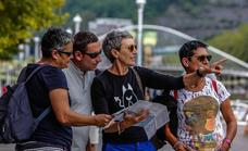 Bizkaia recibió en agosto a casi un 7% más de turistas