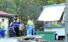 Sufre quemaduras al embestir un camión a una churrería en Carranza