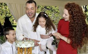 Aparece en un acto oficial Jadiya de Marruecos