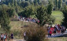 Vitoria se rinde a sus 4.000 pies solidarios