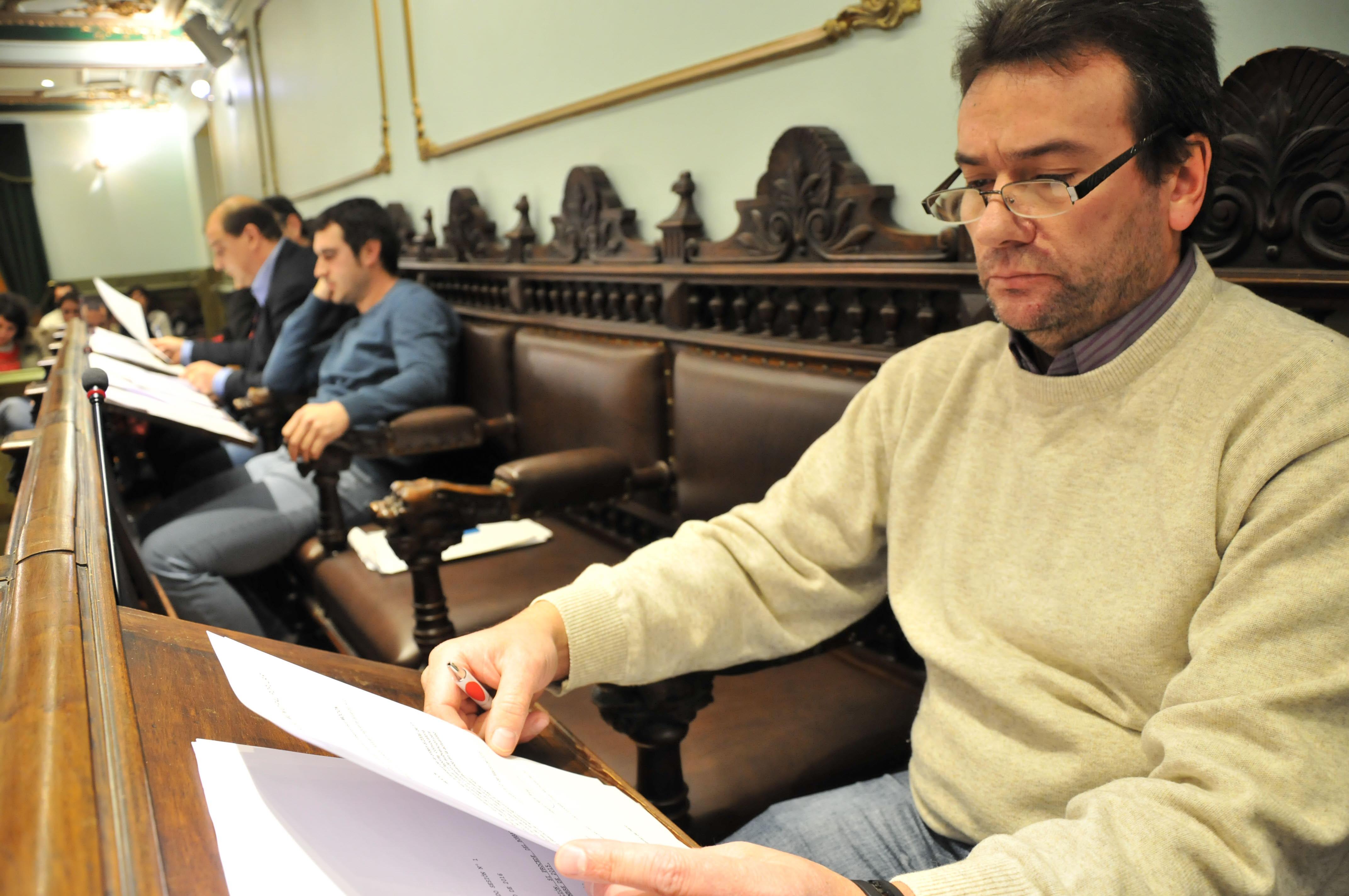 Gasalla avanza su intención de dejar hoy su escaño como concejal del PSOE