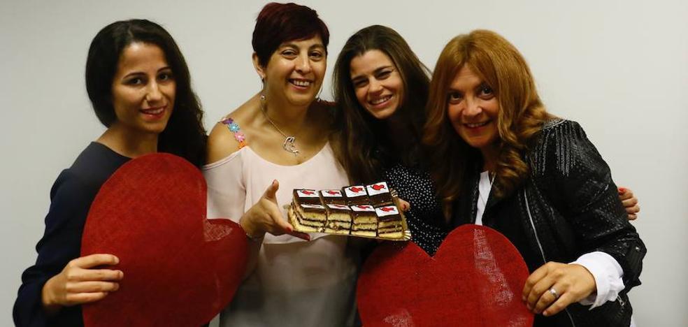 Los pasteleros alaveses crean un pastel cardiosaludable