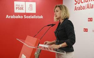 Cristina González repetirá como cabeza de lista del PSE a la Diputación de Álava
