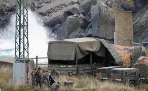 Más de 600 militares se despliegan en Bizkaia y Cantabria por unas maniobras