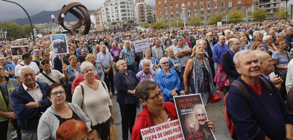 El gasto en pensiones crece en Euskadi más del 5% hasta los 658 millones, un nuevo récord