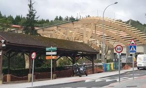 El patio del colegio de Berriz se protege