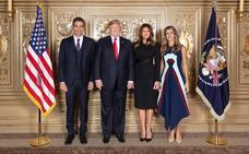 La mujer de Pedro Sánchez eclipsa a Melania Trump